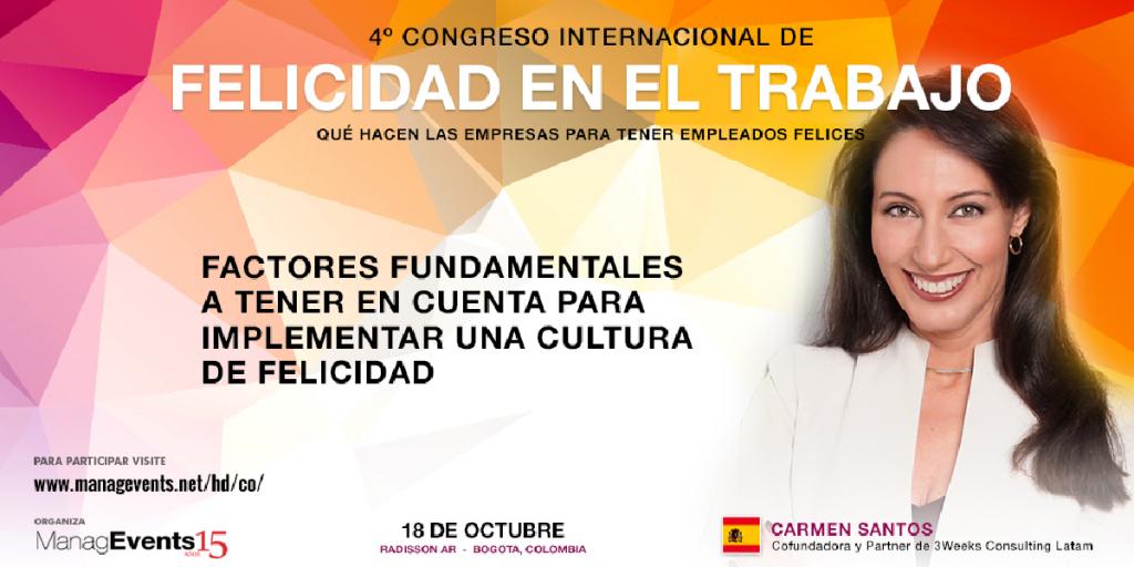4º Congreso Internacional de Felicidad en el trabajo