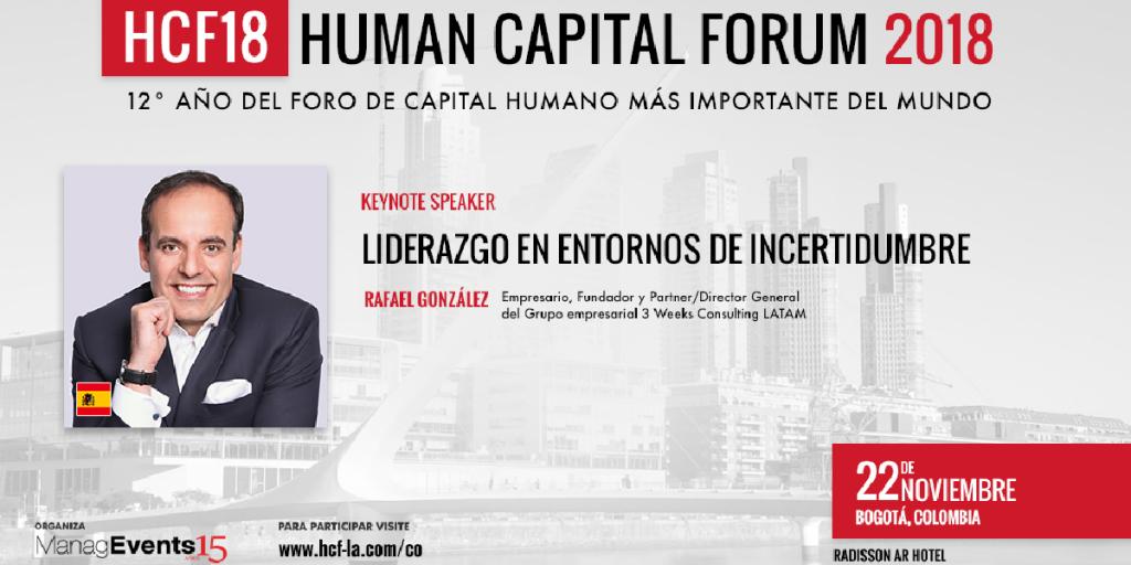 Human Capital Forum (HCF) de Bogotá
